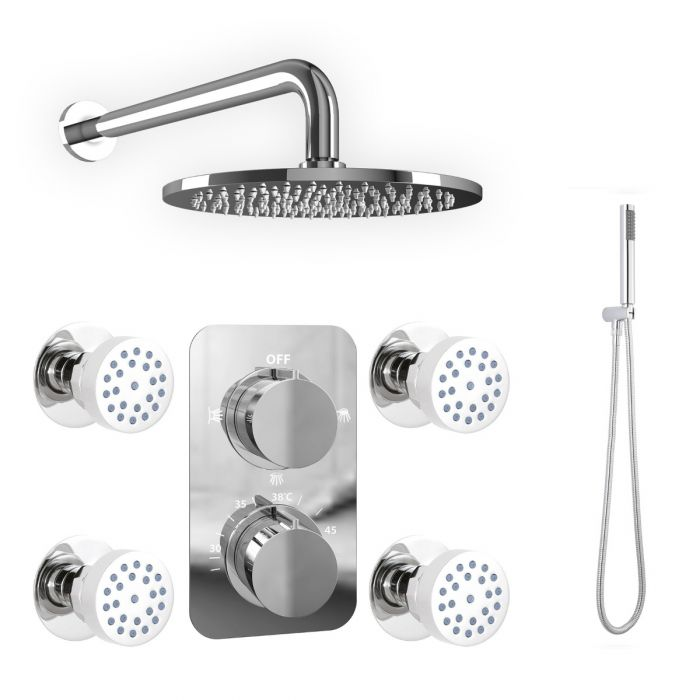 Complementary accessories for bathroom showers in UK