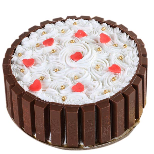 Make your parties special with Kitkat cake recipe!
