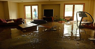 WHAT ARE THE STEPS INVOLVED IN WATER OR FLOOD DAMAGE RESTORATION WORK?