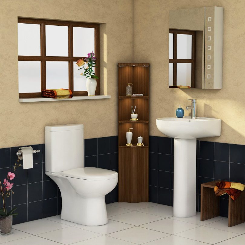 A heavenly made combination of toilet and sink in your bathroom